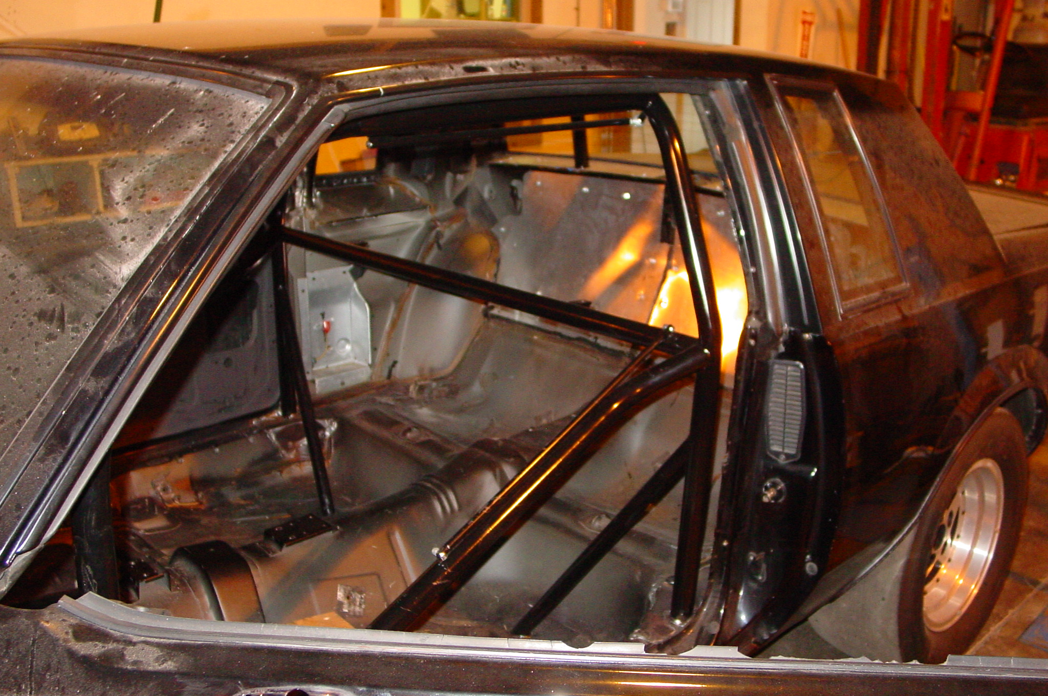 Grand National Buick >> 1987 Buick Grand National Roll Cage | Midnight Hot Rods