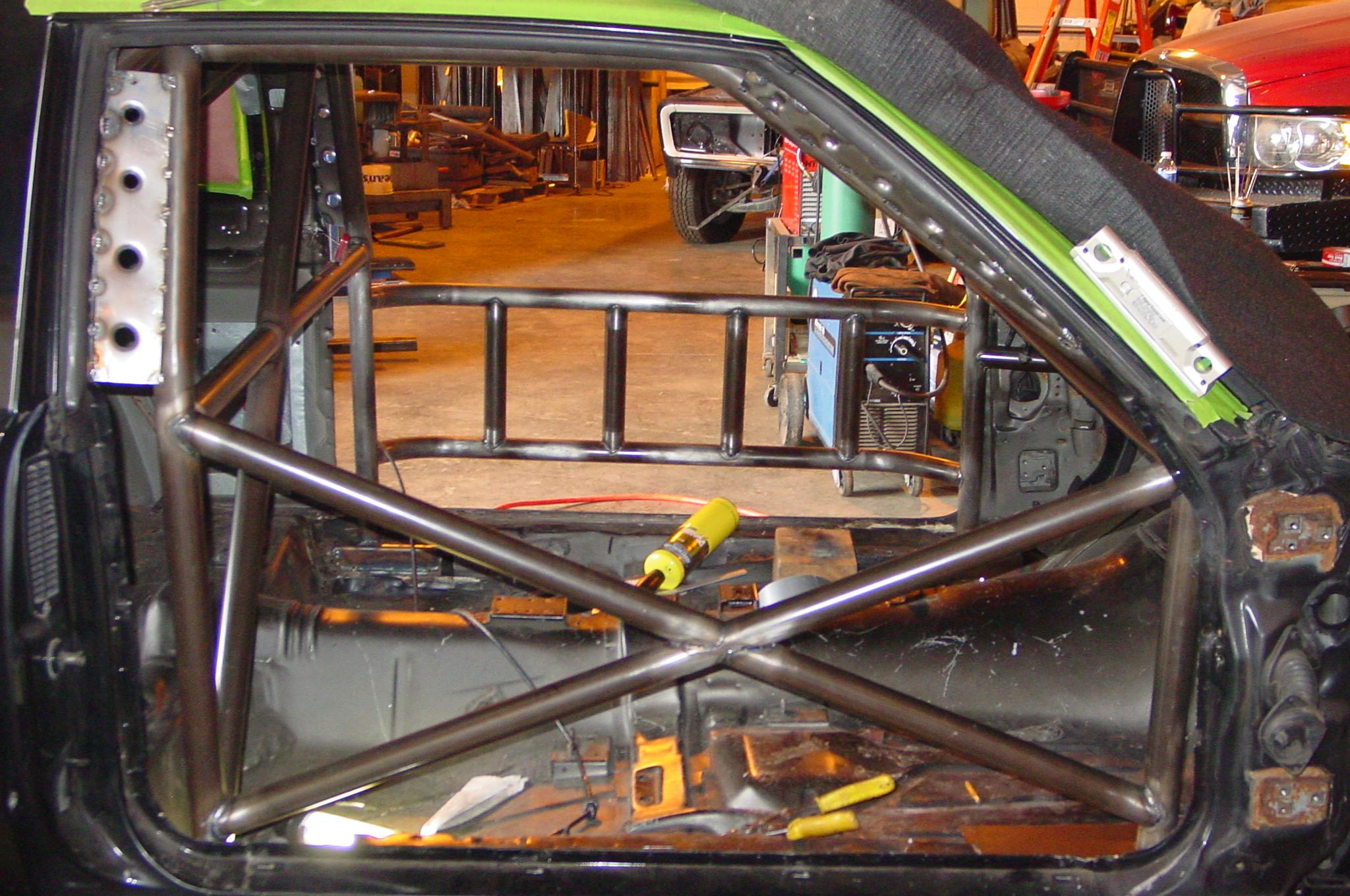 1987 Buick Grand National Roll Cage Midnight Hot Rods