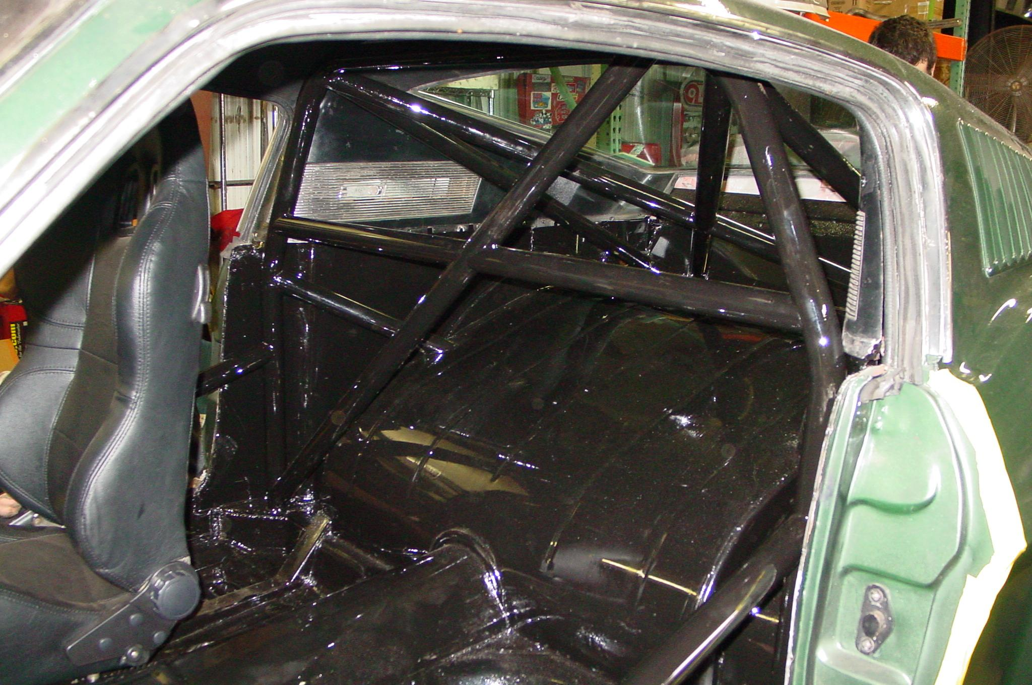 67 Mustang Fastback 4 Speed 4 Link Tubbed Roll Cage